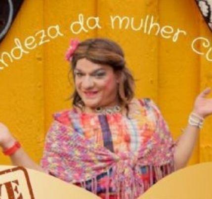 Comadre Sebastiana apresenta live cultural