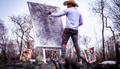Vote: Curta sobre telas de Adriano Figueiredo retratando o fogo no Pantanal concorre a festival