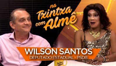 Na txintxa com Almê | Wilson Santos