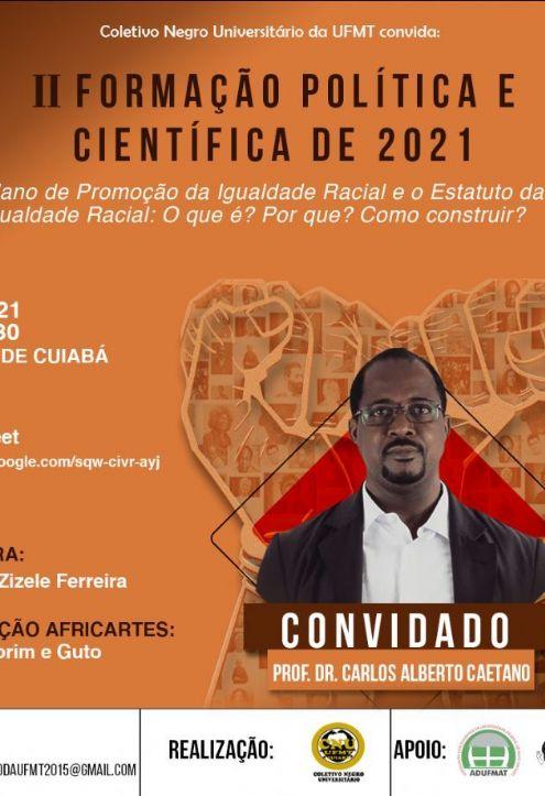 Coletivo Negro da UFMT promove debates