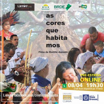 Documentário inédito homenageia Cuiabá e suas cores