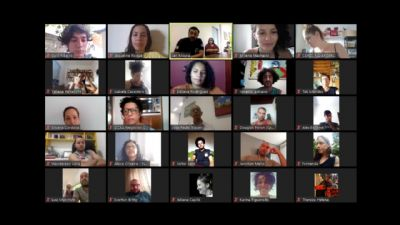 Artistas cênicos reúnem com secretário em busca de alternativas ao Covid-19