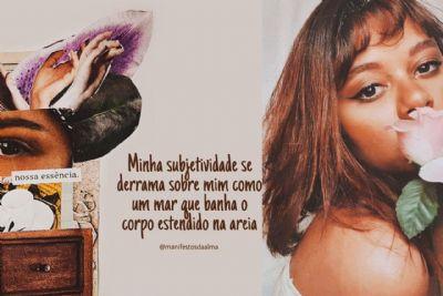 Cuiabana traduz poesias autorais em colagens e série de videoarte
