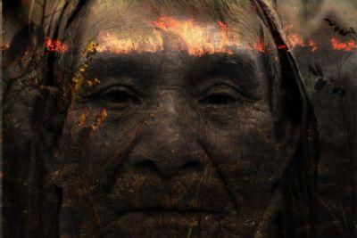 Exposição contrapõe queimadas à poética do fogo na cultura dos povos do Xingu