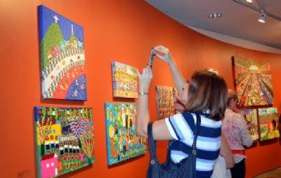Nove artistas cuiabanos são selecionados para a Bienal Naïfs do Brasil
