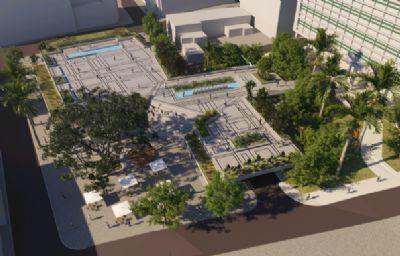 Prefeitura apresenta projeto de revitalização do centro e novo Mercado Municipal