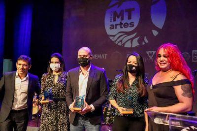 Prêmio MT Artes homenageia classe artística e destaca trabalho de fortalecimento