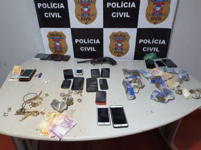 Polícia Civil desarticular quadrilha envolvida com tráfico e tortura