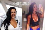 Musa fitness Sue Lasmar conta como superou o efeito sanfona