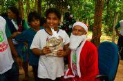 Horto Florestal realiza Natal com deficientes auditivos