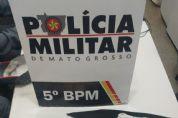 Trio é preso após roubar mercado em Rondonópolis