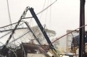 Porto de Paranaguá tem operações impactadas por fortes ventos; veja fotos e vídeos