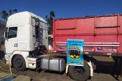 Carreta com seis toneladas de maconha é apreendida em Amambai