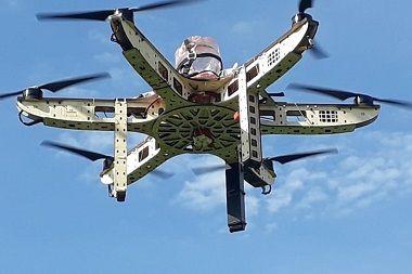 Drone gigante será usado no reflorestamento de áreas degradadas