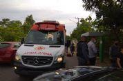 Homem atropelado em ponto de ônibus continua internado e grávida recebe alta