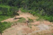 Grupo usa licença de exploração falsa para garimpo ilegal em Nova Lacerda