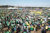 Em Brasília, produtores de MT criticam interferência dos Poderes e Bolsonaro reconhece o agro - veja