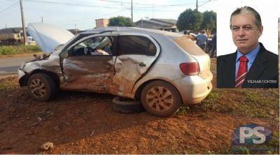 Vereador de Gaúcha do Norte morre de infarto após acidente de trânsito