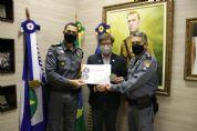 PM entrega Moeda Honorífica à Grande Loja Maçônica de Mato Grosso