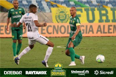 Cuiabá sai atrás na disputa por uma vaga na semi da Copa do Brasil