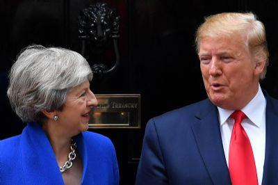 Trump diz querer acordo 'substancial' com Reino Unido após brexit
