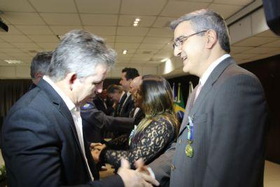 Procurador-geral de Justiça é homenageado pelos serviços prestados à aviação