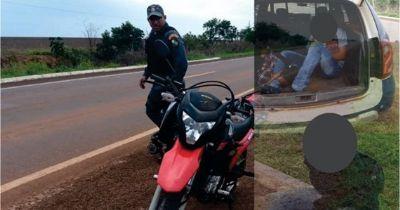 Roubo de moto acaba em tiroteio com a polícia em Bom Jesus do Araguaia