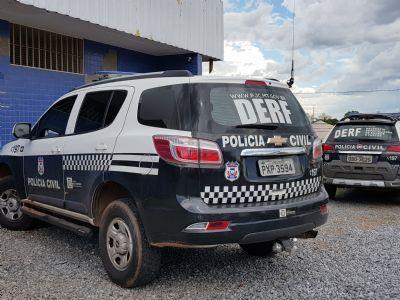 Investigado por extorsão praticada contra três vítimas, homem é preso pela Polícia Civil, em Cuiabá