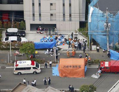 Esfaqueamento em massa nas proximidades de Tóquio