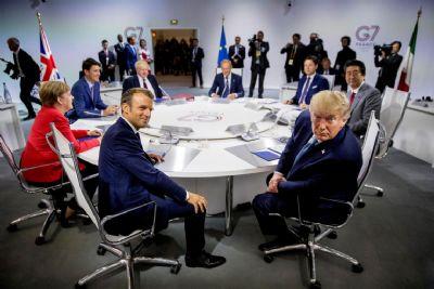 G7 acorda sobre ajuda à Amazônia