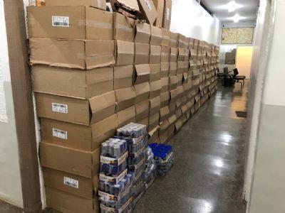 Polícia recupera mais de R$ 800 mil em produtos roubados