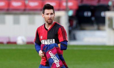Messi é multado por homenagem a Maradona em comemoração de gol