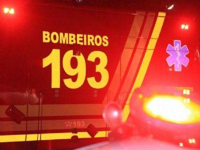 Trote mobiliza bombeiros, policiais e ambulâncias de dois municípios do interior