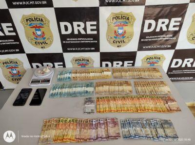 Três pessoas da mesma família são presas em pontos de venda de drogas na Capital