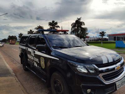 Polícia Civil prende segundo envolvido em roubo em Sorriso