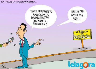 Entrevista no Alencastro