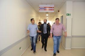 Ministério da Saúde aprova entrega do HMC por etapas