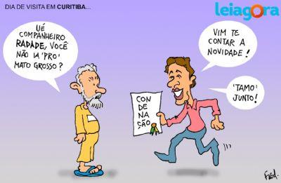 DIA DE VISITA EM CURITIBA...