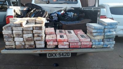 Polícia Federal apreende 100 Kg de cocaína em Goiás