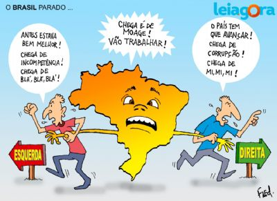 O Brasil parado