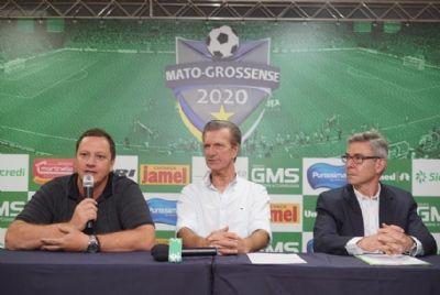 Martinello e Sicredi firmam parceria com a FMF e patrocinam Mato-grossense 2020