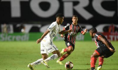 Santos empata sem gols com o Botafogo-SP