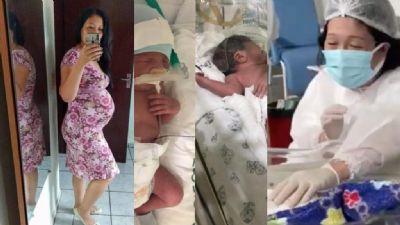 Mãe de gêmeos, Vanessa relata a superação da covid e a angústia de dias longes dos filhos