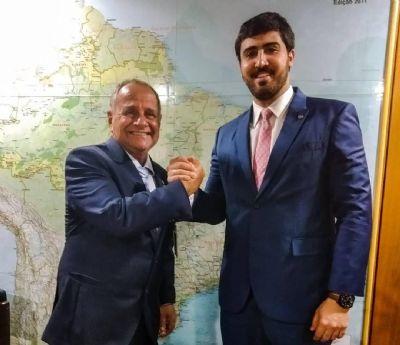 Emanuelzinho cumpre agenda no Planalto