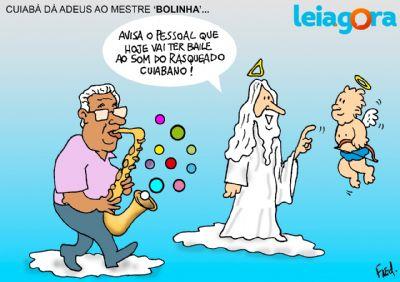 Cuiabá da adeus ao mestre 'Bolinha'