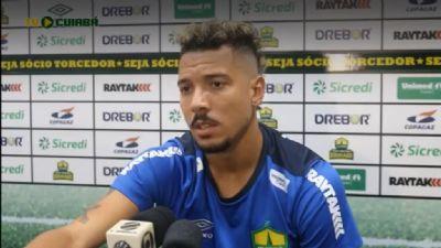 """Hugo Cabral ressalta qualidade do adversário, mas vê Cuiabá preparado para vencer: """"Temos um elenco competitivo"""