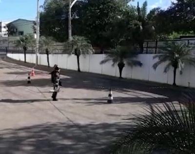 Bope destrói simulacro de bomba em loja no centro de Barra do Garças