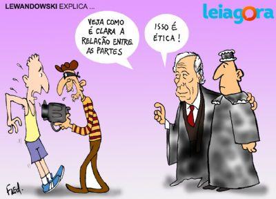 Lewandowski explica...