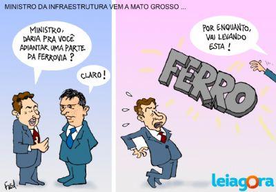 Ministro de Infraestrutura vem a Mato Grosso