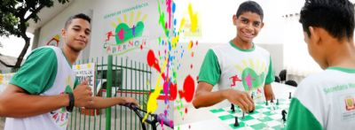 Unidade especial promove o resgate da autoestima e reforça o ensino